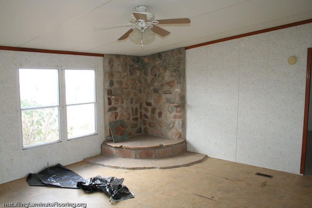 More renovation needed. Fireplace adds acomplexity